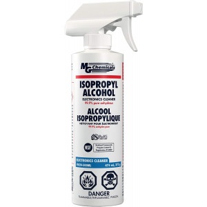 MG Chemicals 99.9% Isopropyl Alcohol Electronics Cleaner, 475 mL Trigger Spray Bottle