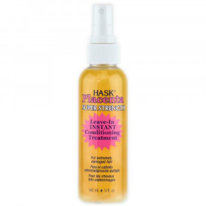 Hask Placenta Super Strength Leave-in Conditioner, 5 Ounce