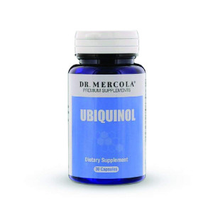 Dr. Mercola Ubiquinol 100mg - 30 Capsules - High Absorption CoQ10 Kaneka Antioxidant - For Heart Health Energy Boost and Muscle Pain Relief - Non GMO and Gluten Free