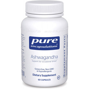 Pure Encapsulations - Ashwagandha - Supports Cardiovascular, Immune, Cognitive, and Joint Function and Helps Moderate Occasional Stress* - 60 Capsules