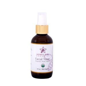Honey Girl Organics Facial Toner, 4.0 Fluid Ounce