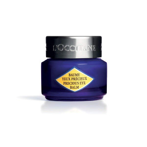 L'Occitane Immortelle Precious Eye Balm to Help Reduce the Appearance of Tired Eyes, 0.5 oz.