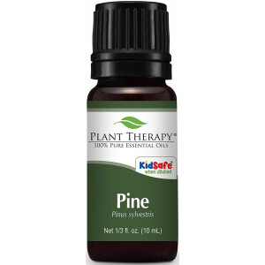 Plant Therapy Pine Essential Oil. 100% Pure, Undiluted, Therapeutic Grade . 10 ml (1/3 oz).