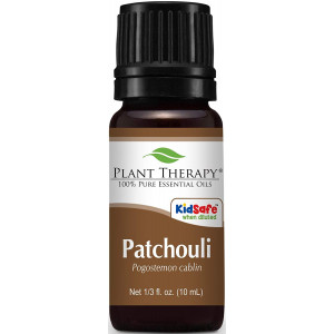 Plant Therapy Patchouli Essential Oil. 100% Pure, Undiluted, Therapeutic Grade . 10 mL (1/3 Ounce).