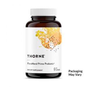 Thorne Research - FloraMend Prime Probiotic - Shelf-Stable and Stomach Acid-Resistant Probiotic Blend - 30 Capsules