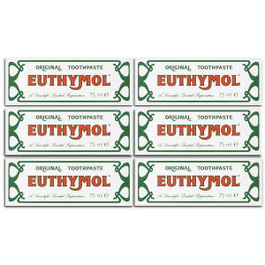 Euthymol Original Toothpaste 75ml (Case of 6)