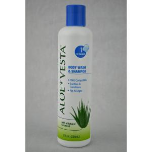 Aloe Vesta 2-n-1 Body Wash and Shampoo - Pack of 3