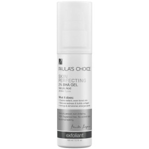 Paula's Choice-SKIN PERFECTING 2% BHA Gel Salicylic Acid Exfoliant, 3.3 Ounce Bottle for Facial Blackheads Enlarged Pores and Fine Lines-