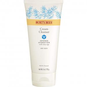 Burt's Bees Intense Hydration Cream Cleanser, Moisturizing Face Wash, 6 Ounces