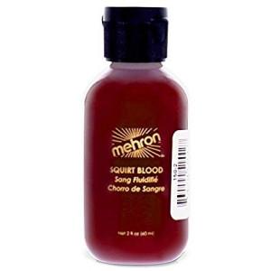 Mehron Makeup Squirt Blood (2 oz) (Bright Arterial)