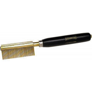 Kentucky Maid SPKM222 Medium weight Double Press Comb with Fine Brass teeth and Copper spacers