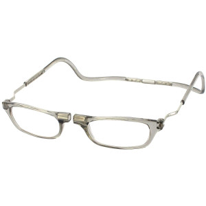 Clic XXL Magnetic Reading Glasses in smoke, +1.50