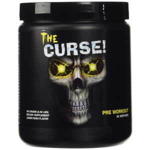Cobra Labs The Curse Advanced Pre-Workout 50 Servings Lemon Rush 250g