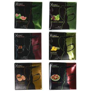 Hydro Herbal 100% Tobacco and Nicotine Free Premium Hookah Shisha Molasses, Lot of 6