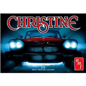 1/25 1958 Plymouth Christine Model Kit Horror Car Molded in Red
