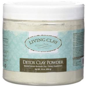 Detox Clay Powder Living Clay 16 oz Powder