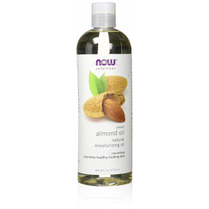 NOW Foods 100% Pure Sweet Almond Oil 16 Oz Moisturizing Oil Promote Healthy Skin
