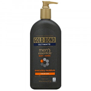 Gold Bond Ultimate Men's Essentials Hydrating Lotion 14.50 oz (Pack of 3)