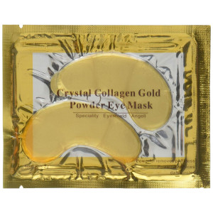 10/20/30/50/60/80/100 pairs wholesale New Crystal 24K Gold Powder Gel Collagen Eye Mask Masks Sheet Patch, Anti Ageing Aging, Remove Bags, Dark Circles and Puffiness, Skincare, Anti Wrinkle, Moisturising, Moisture, Hydrating, Uplifting, Whitening, Remove