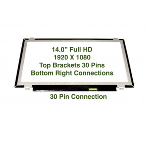 """Au Optronics B140htn01.1 Replacement LAPTOP LCD Screen 14.0"""" Full-HD LED DIODE (Substitute Only. Not a )"""