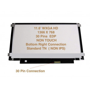 "N116BGE-EA2 REV. C1 New 11.6"" WXGA HD 1366x768 LED LCD Screen 30PIN MATTE Replacement Display Revc1"