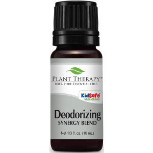 Plant Therapy Deodorizing Synergy Essential Oil 10 mL 100% Pure, Undiluted, Therapeutic Grade