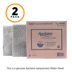 Aprilaire 10 Water Panel for Aprilaire Whole Home Humidifier Models: 110, 220, 500, 550, 558, (Pack of 2)