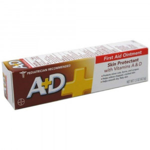 A+D First Aid Ointment Skin Protectant With Vitamin AandD 1.50 oz(Pack of 2)