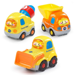VTech Go! Go! Smart Wheels Construction Vehicles 3-Pack