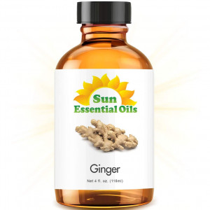 Ginger (Large 4 ounce) Best Essential Oil