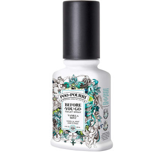 Poo-Pourri Before-You-Go Toilet Spray 2 oz Bottle, Vanilla Mint Scent