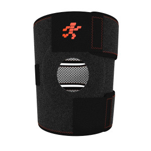 Uflex Best Knee Brace and Support Open Patella,One Size Adjustable, Neoprene Sports Compression, relieves Joint Pain and Treats Arthritis, Acl Tear, Meniscus Tear, Tendonitis, Bonus Ankle Brace