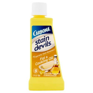 Carbona Stain Devils #5 Fat and Cooking Oil, 1.7 oz-2 pk