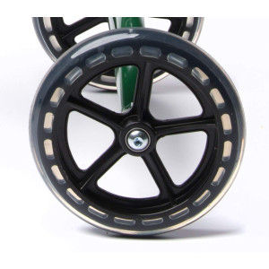 "Knee Walker Universal 7.5 Inch Wheel with Non Marking Polyurethane - Replacement Part Fits Many Knee Scooters with 7.5"" Wheels"