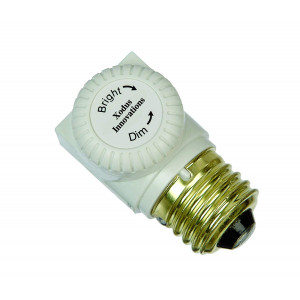 Xodus Innovations XL150D Dimmer Switch for up to 150 Watt Incandescent Bulb for Use with Lamps and Fixtures, White