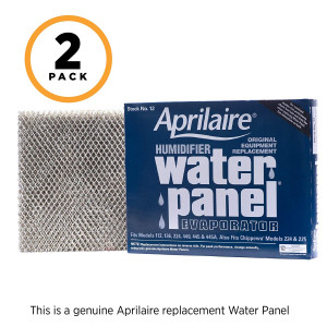 Aprilaire 12 Water Panel for Aprilaire Whole Home Humidifier Models: 112, 224, 225, 440, 445, 448, (Pack of 2)