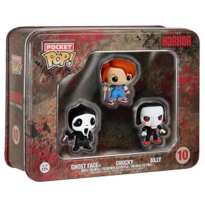 Horror - Ghost Face, Chucky, Billy