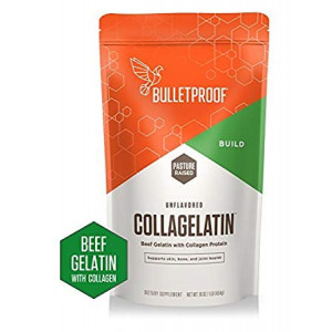 Bulletproof CollaGelatin, Gelatin Enhanced with Collagen Protein, Perfect for the Keto and Paleo Diet Recipes (16 Ounces)