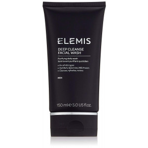 ELEMIS Deep Cleanse Facial Wash - Purifying Daily Wash for Men, 5.0 fl. oz