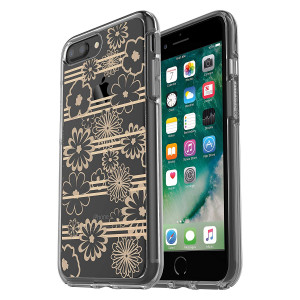 OtterBox Symmetry Clear Series Case for iPhone 8 Plus and iPhone 7 Plus (ONLY) - Drive Me Daisy