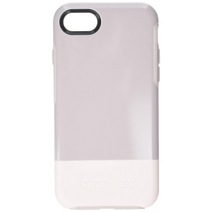 OtterBox Symmentry Series Cell Phone Case for iPhone 8/7 - Skinny Dip (White/Pale Mauve/Skinny Dip)
