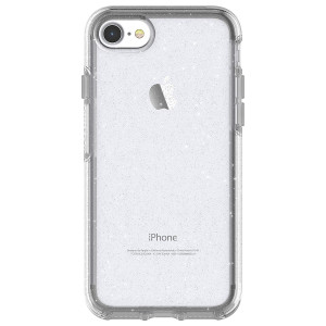OtterBox SYMMETRY CLEAR SERIES Case for iPhone 8 and iPhone 7 (NOT Plus) - STARDUST (SILVER FLAKE/CLEAR)