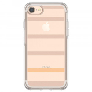 OtterBox SYMMETRY CLEAR SERIES Case for iPhone 8 and iPhone 7 (NOT Plus) - INSIDE THE LINES (CLEAR/INSIDE THE LINES)