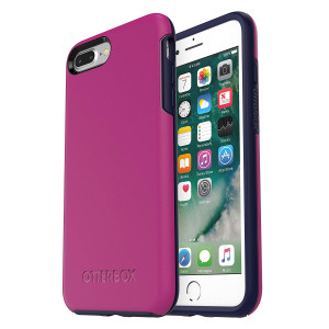 OtterBox SYMMETRY SERIES Case for iPhone 8 Plus and iPhone 7 Plus (ONLY) - MIX BERRY JAM (BATON ROUGE/MARITIME BLUE)