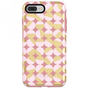 OtterBox SYMMETRY SERIES Case for iPhone 8 Plus and iPhone 7 Plus (ONLY) - MOD ABOUT YOU (PALE BEIGE/BLUSH/MOD DOTS)