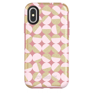 OtterBox SYMMETRY SERIES Case for iPhone X (ONLY) - MOD ABOUT YOU (PALE BEIGE/BLUSH/MOD DOTS)