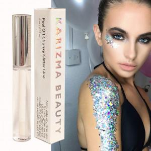 Peel Off Chunky Glitter Glue  KARIZMA BEAUTY  Face Glitter Glue Adhesive Body Cosmetic Makeup