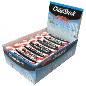 ChapStick Limited Edition Candy Cane, 12-Stick Refill Pack