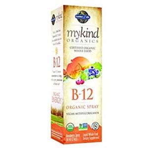 Garden of Life mykind Organics Organic B-12 Spray, 2oz Spray (2-Pack)