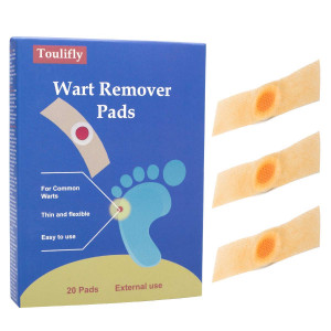 Wart Remover,Corn Remover,Foot Corn Remover Pads,Plantar Wart Removal, Corn Callus Remover, Penetrates and Removes Common and Plantar Warts, Callus,Stops Wart Regrowth